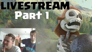 [facecam] LIVESTREAM TEIL 1 || CLASH OF CLANS || Let's Play Clash of Clans [Deutsch/German HD]