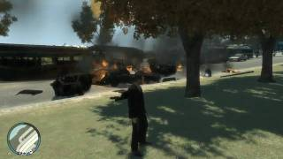 GTA IV - Explosions on max settings (hd5770, Core i5 @ 3.2ghz)