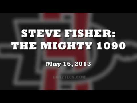 SDSU MEN'S HOOPS: STEVE FISHER INTERVIEW - 5/16/13