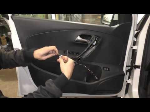 VW Polo Sedan - Как снять обшивку двери