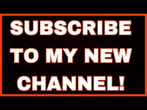 Please Subscribe To My New Channel! (Eric Miller ASMR)