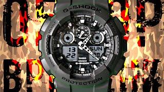 G-SHOCK GA-100CF-8A КАМУФЛЯЖ | Обзор (на русском) | Купить со скидкой(, 2015-12-20T12:14:06.000Z)