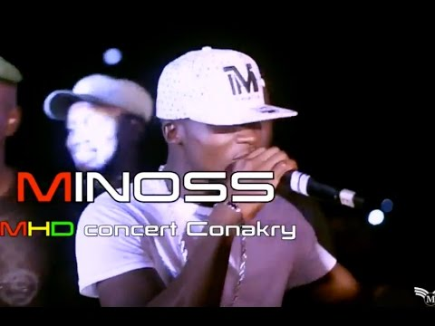 LIVE CONCERT & SPECTACLE : MINOSS 1ere Partie concert MHD Conakry 2016 By Dj.IKK