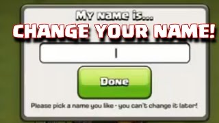 COC name change 3rd time! Yes its possible