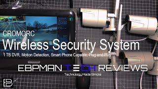 Cromorc | Best Wireless Security Camera System with 1TB DVR Night vision