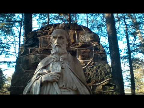 Abandoned Shrine in the Woods Creepy Odd Weird Building Statues Hiding