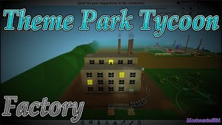 How to make a Factory Roller coaster - Theme Park Tycoon
