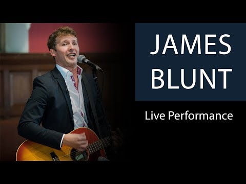 James Blunt  Youre Beautiful   Performance at Oxford Union