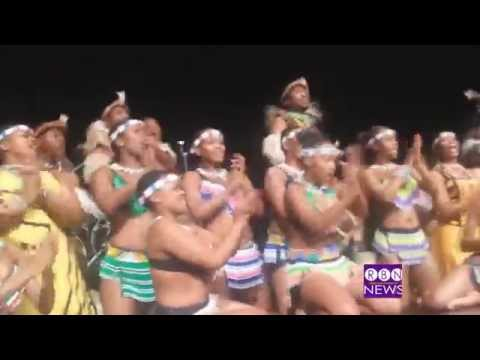 SOUTH AFRICANS: Africa Umoja Dancing at Hosea Feed The Hunger in Atlanta11 27 14 RulaBrownNetwork