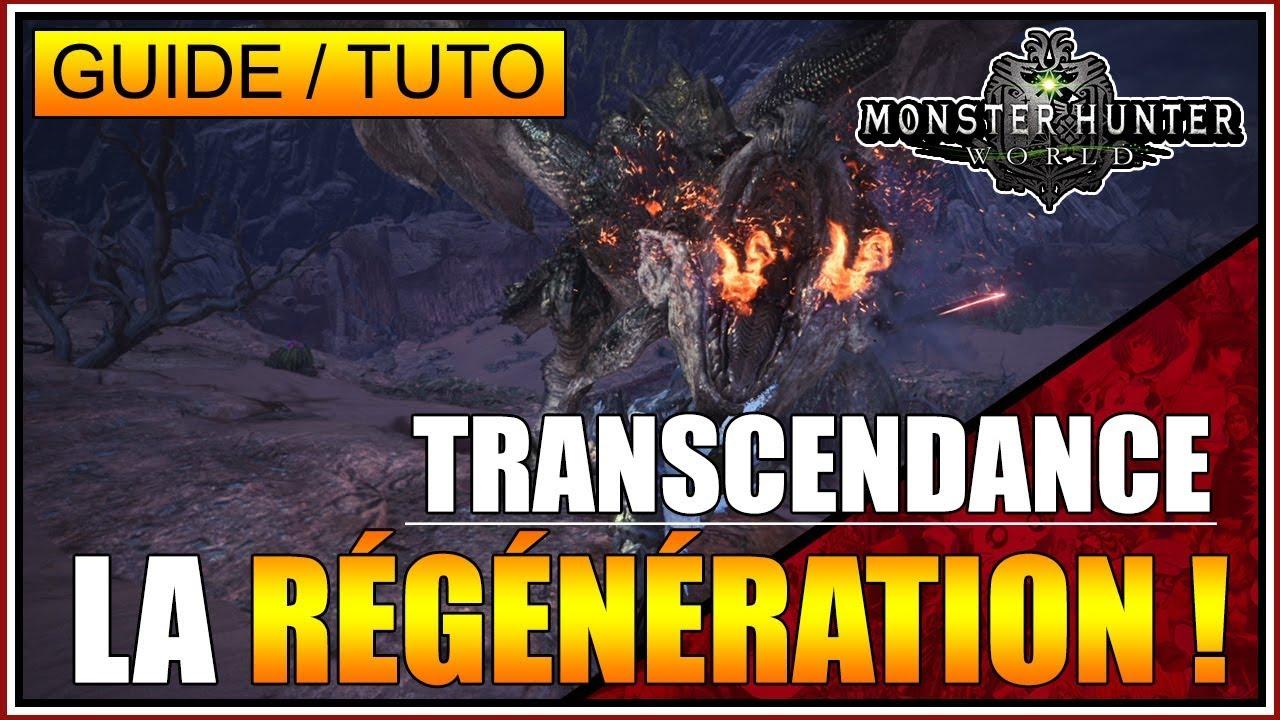 GUIDE/TUTO - LE TALENT RÉGÉNÉRATION DE LA TRANSCENDANCE D'ARME ! ???????????? - MONSTER HUNTER WORLD - FR