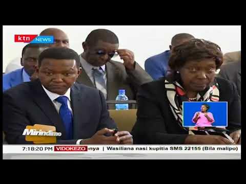 Wafuasi wa NASA wachangamkia uwanja wa ndege wa Kisumu kumlaki Raila Odinga: Mirindimo
