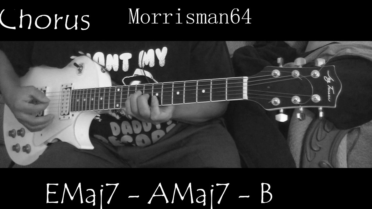 The Ebonys Youre The Reason Why Guitar Chords Lesson Youtube