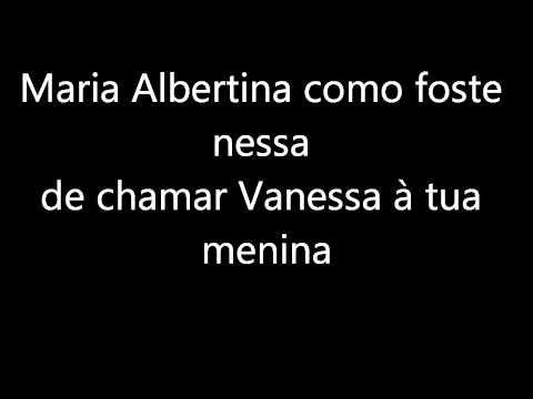 Humanos- Maria Albertina