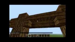 Как построить красивый забор в Minecraft (1)