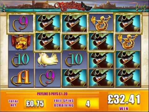 Venetian Romance slot machine review