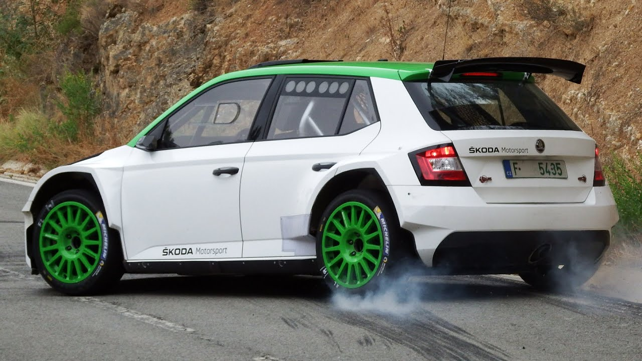 test jan kopecky skoda fabia r5 rallyracc 2016 by jaume soler youtube. Black Bedroom Furniture Sets. Home Design Ideas