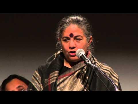 Vandana Shiva: Not Globalization, Localization