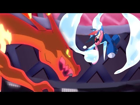 Charizard VS  Greninja Battle Bond - 4K - Pokemon 2020 AMV