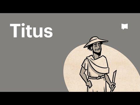 Read Scripture: Titus