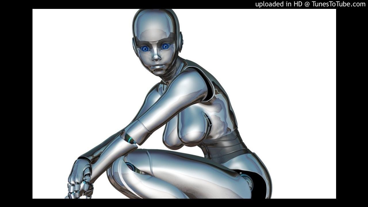 3d робот секс