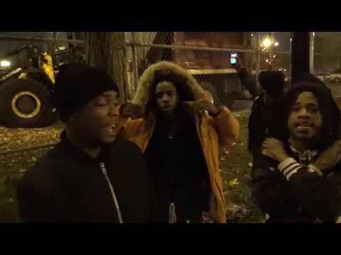 CHICAGO ENGLEWOOD GANG AT NIGHT/ YOUNG CHARLIE & KING DMOE