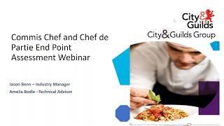 Hospitality: Commis Chef and Chef de Partie