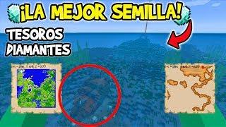 Las Mejores SEMILLAS De La ACTUALIZACION ACUATICA Minecraft xbox 360/PS3/PS4/Wii u