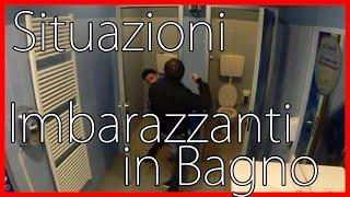 Situazioni Imbarazzanti in Bagno - FINITO MALE - [Esperimento Sociale] - theShow thumbnail