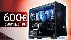 600 Euro GAMING PC 2020 | Der SCHNELLSTE im TEST + Zusammenbauen
