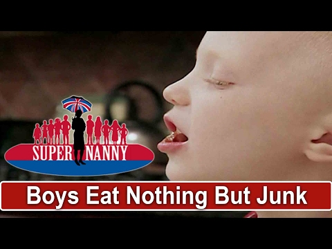 Dad Feeds Kids Nothing But Junk Food - Evans Fam Full Ep Prt 3 | Supernanny USA