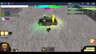 Roblox Miners Haven Lightning Bolt Refiner