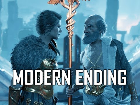 Download ASSASSIN'S CREED ODYSSEY Walkthrough Part 80 - MODERN ENDING (Let's Play Commentary)