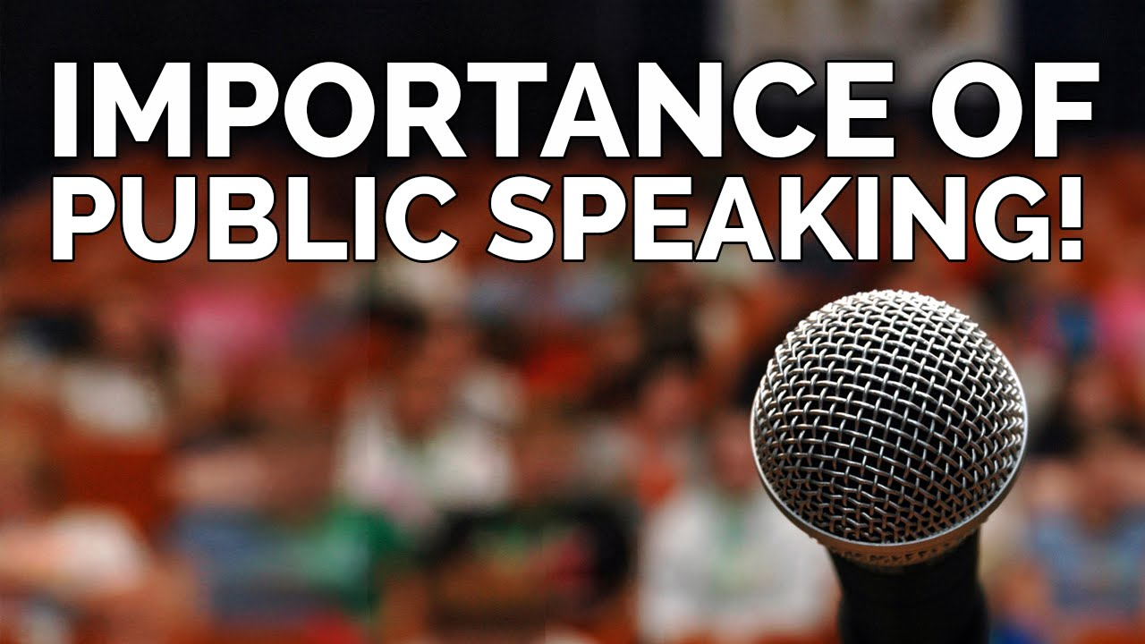 the importance of public speaking skills in Although public speaking requires the same skills as used in normal conversation, public speaking and conversation is not identical public speaking involves talking in front of a group of people, usually with some preparation.