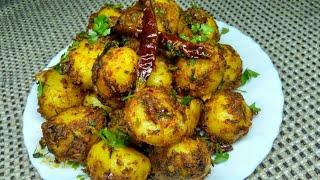 Jeera Aloo | Masala Jeera Aloo Sabzi | Spicy Cumin Potatoes