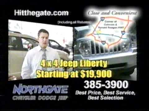 High Quality Northgate Chrysler Dodge Jeep Commercial