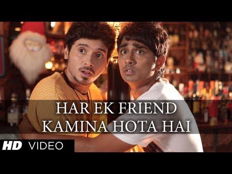 Har Ek Friend Kamina Hota Hai Full (HD) Song | Chashme Baddoor | Ali Zafar, Siddharth