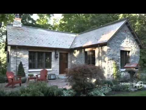 Красивые фасады дома с мансардой