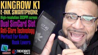 #Kingrow K1 E-Ink Smartphone📱 : #LGTV Review