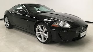 For sale - 2011 Jaguar XK 5.0V8 Portfolio - Black with Ivory Trim - Nick Whale Sports Cars