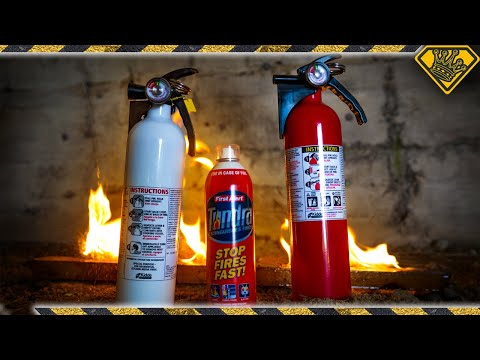Did You Know THIS is Inside a Fire Extinguisher?