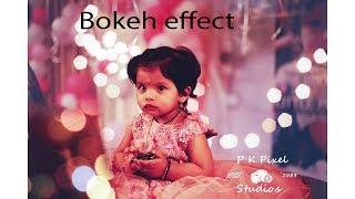 Adobe Photoshop 2018cc editing   Bokeh Effect   Full HD 1080/60fps