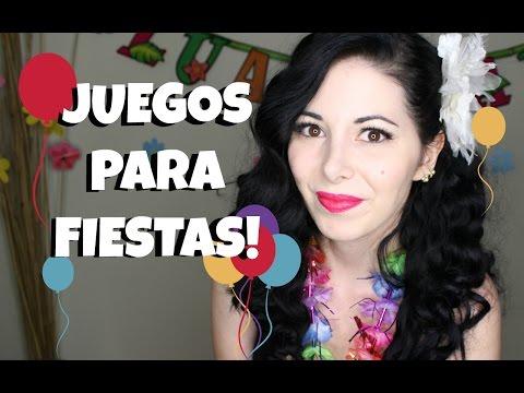 JUEGOS PARA FIESTAS DE CUMPLEAÑOS!