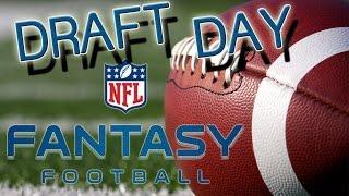 DRAFT DAY || NFL FANTASY FOOTBALL || Let's Draft [Deutsch/German HD]