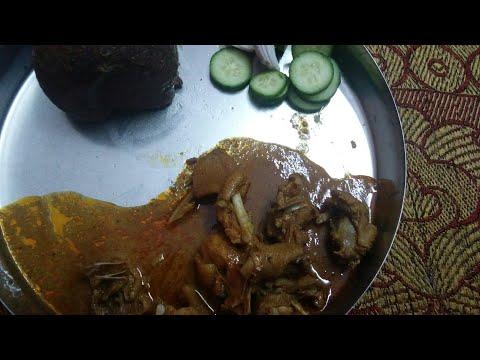 ನಾಟಿ ಕೋಳಿಯ ಸಾರು /nati koli saru in kannada/traditional  nati koli samber/chicken samber