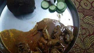 ನಾಟಿ ಕೋಳಿಯ ಸಾರು /nati koli saru in kannada/traditional  nati koli samber/chicken samber thumbnail