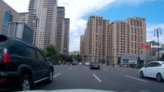 Баку Улицы в центре города до Азнефти
