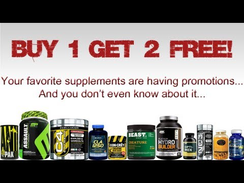 Bodybuilding Supplements Promotions | Find Out Where The Promotions Are Right Now!