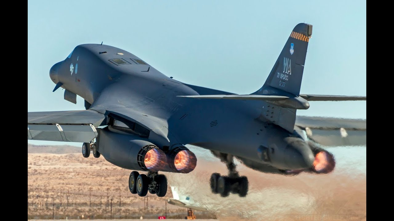 Supersonic Heavy Strategic Bomber Rockwell B-1 Lancer ... B1 Lancer Supersonic