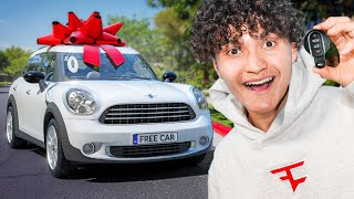 I Gave Away A FREE Car & This Happened...