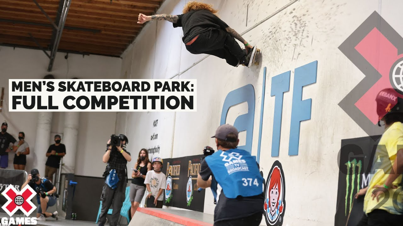 Download Men's Skateboard Park: FULL COMPETITION   X Games 2021